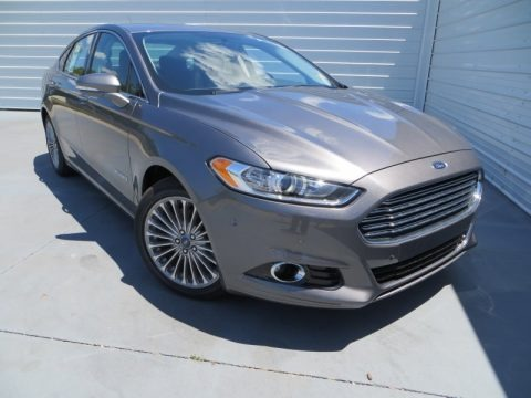 Sterling Gray Metallic 2013 Ford Fusion Hybrid Titanium