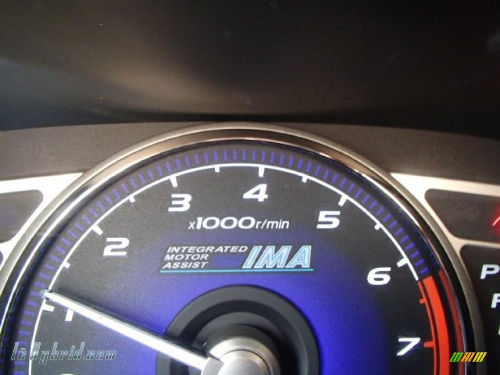 2008 Honda Civic Hybrid Sedan In Alabaster Silver Metallic