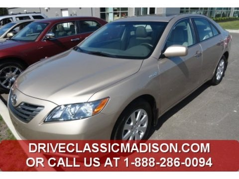 Desert Sand Metallic 2009 Toyota Camry Hybrid
