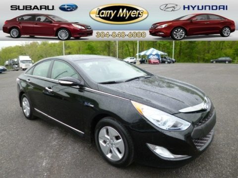 Black Onyx Pearl 2012 Hyundai Sonata Hybrid