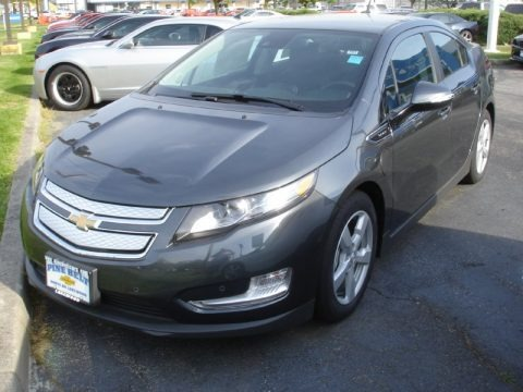 Cyber Gray Metallic 2013 Chevrolet Volt