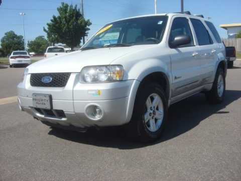 Oxford White 2006 Ford Escape Hybrid