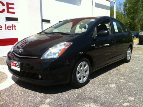 Black 2008 Toyota Prius Hybrid Touring