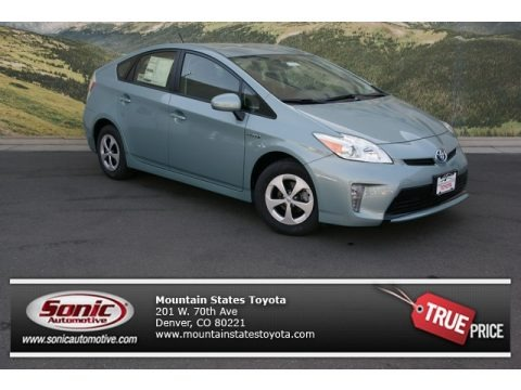 Sea Glass Pearl 2013 Toyota Prius Two Hybrid