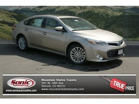 Champagne Mica 2013 Toyota Avalon Hybrid XLE