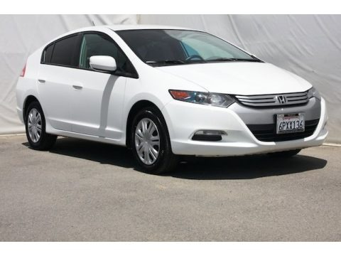 Taffeta White 2011 Honda Insight Hybrid