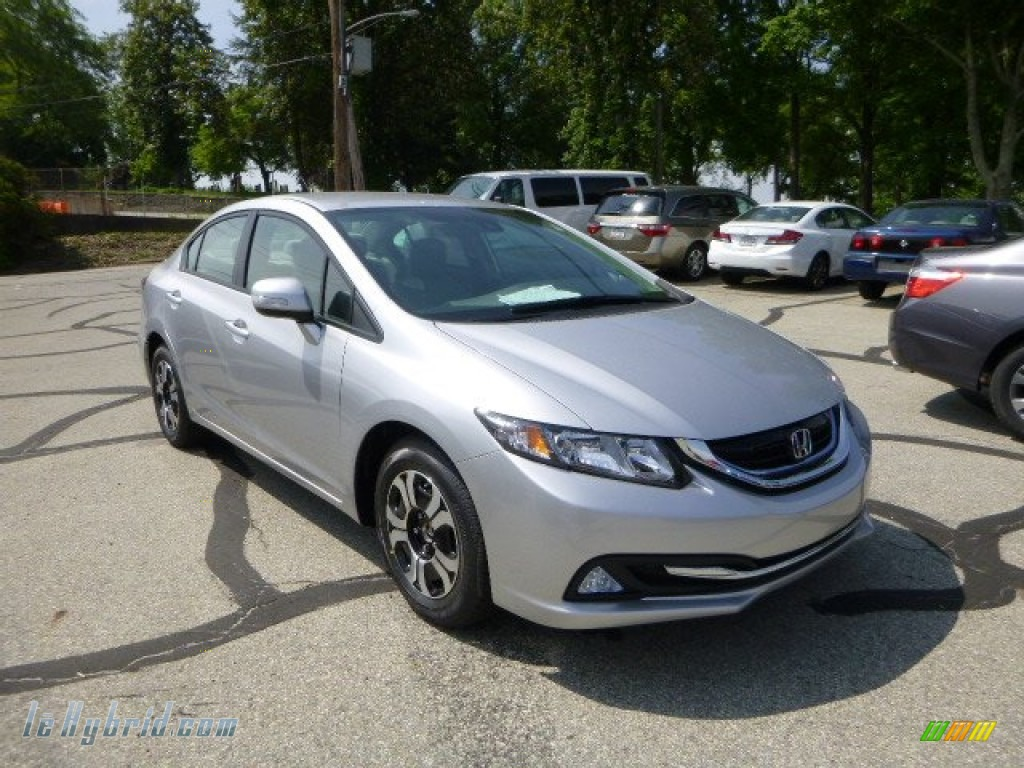 2013 Honda Civic Hybrid Sedan In Alabaster Silver Metallic