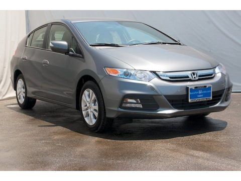 Polished Metal Metallic 2013 Honda Insight EX Hybrid