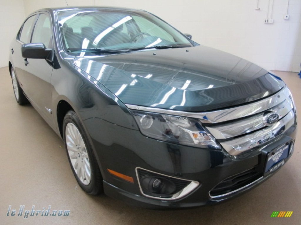 2010 Ford Fusion Hybrid In Atlantis Green Metallic 143498 Lehybrid Com Hybrid Cars Gasoline Electric Vehicles For Sale In The Us