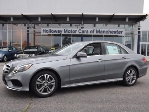 Paladium Silver Metallic 2014 Mercedes-Benz E 400 Hybrid Sedan