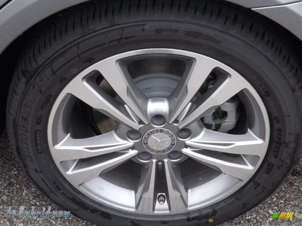 2014 E 400 Hybrid Sedan - Paladium Silver Metallic / Gray/Dark Gray photo #5