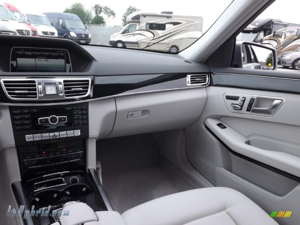 2014 E 400 Hybrid Sedan - Paladium Silver Metallic / Gray/Dark Gray photo #8