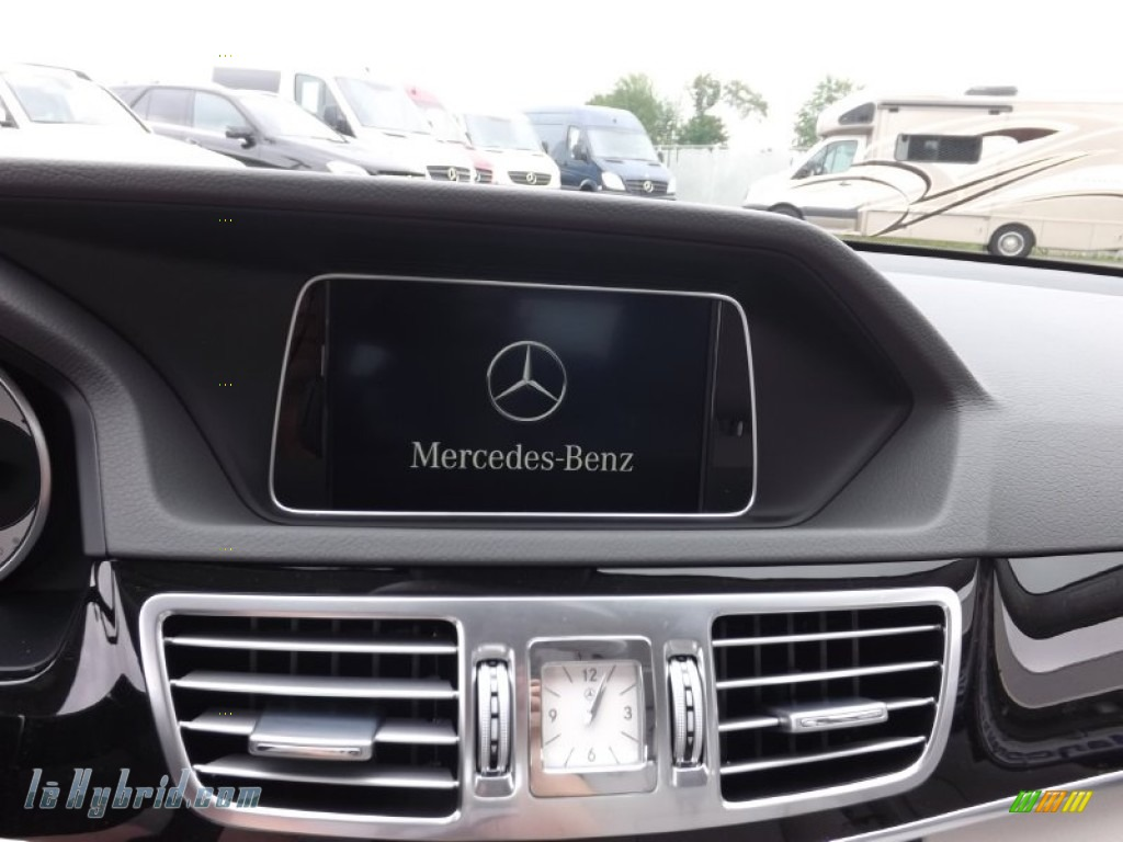 2014 E 400 Hybrid Sedan - Paladium Silver Metallic / Gray/Dark Gray photo #10