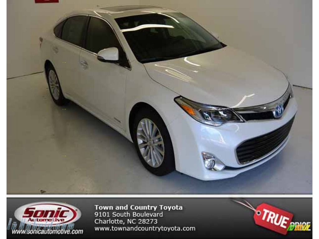 2013 toyota avalon hybrid limited in blizzard white pearl 012761 hybrid cars. Black Bedroom Furniture Sets. Home Design Ideas