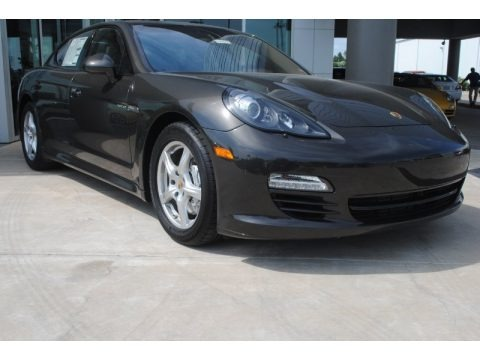 Carbon Grey Metallic 2013 Porsche Panamera Hybrid S