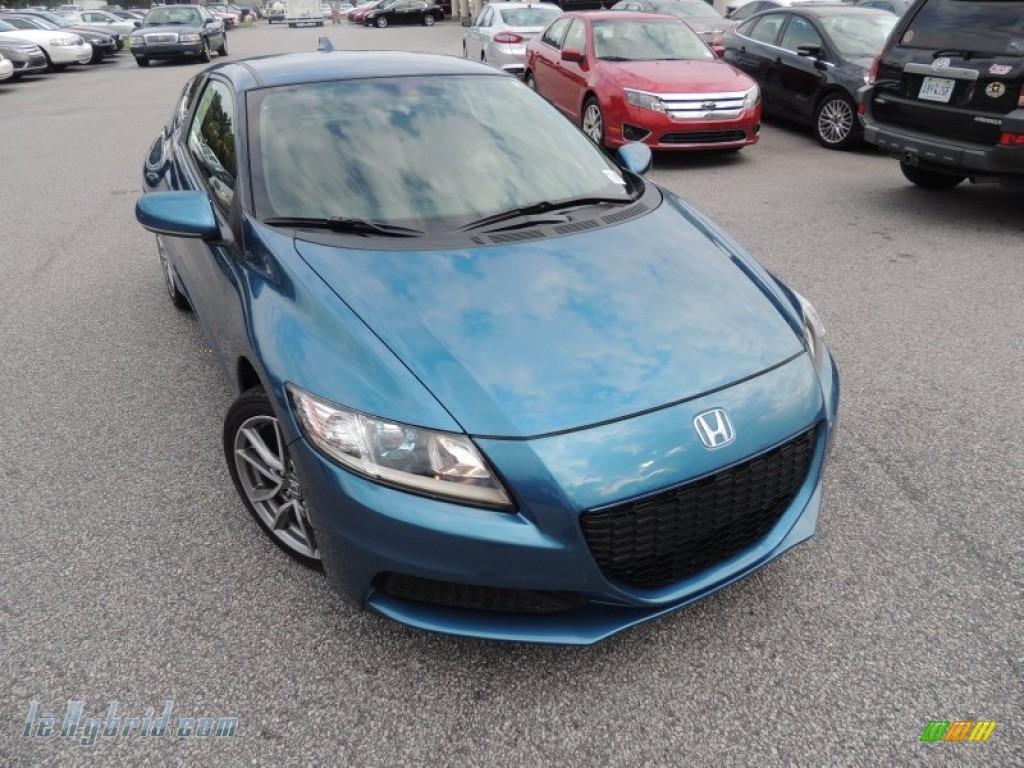 2013 honda cr z sport hybrid in north shore blue pearl for Honda north shore