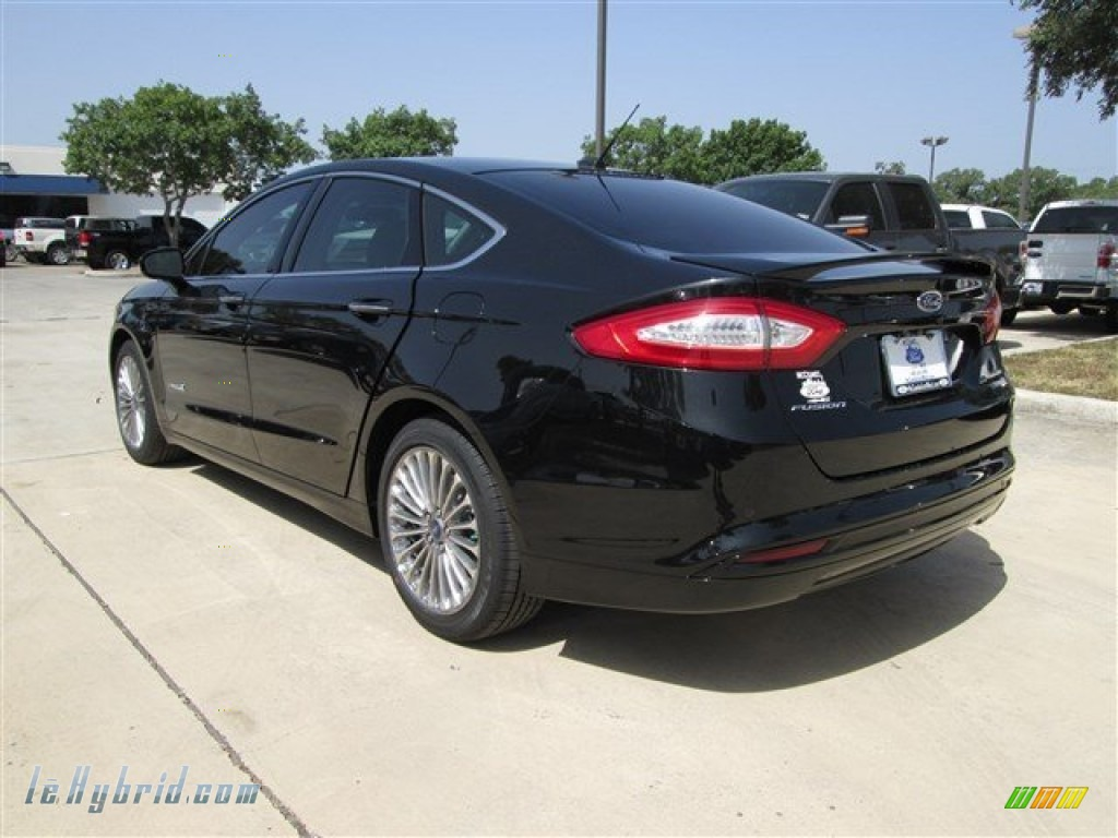 2014 Ford Fusion Black Bing Images