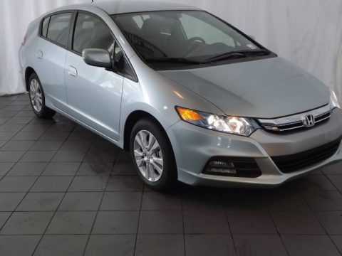 Frosted Silver Metallic 2013 Honda Insight EX Hybrid