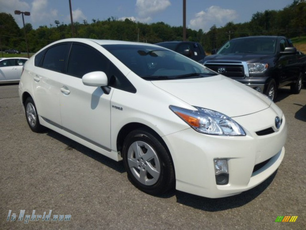 2011 toyota prius hybrid ii in blizzard white pearl for Prius electric motor for sale