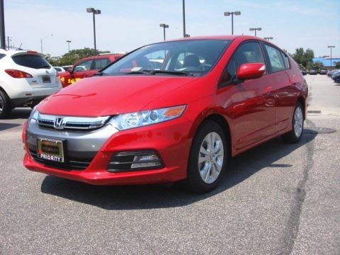 Milano Red 2013 Honda Insight EX Hybrid