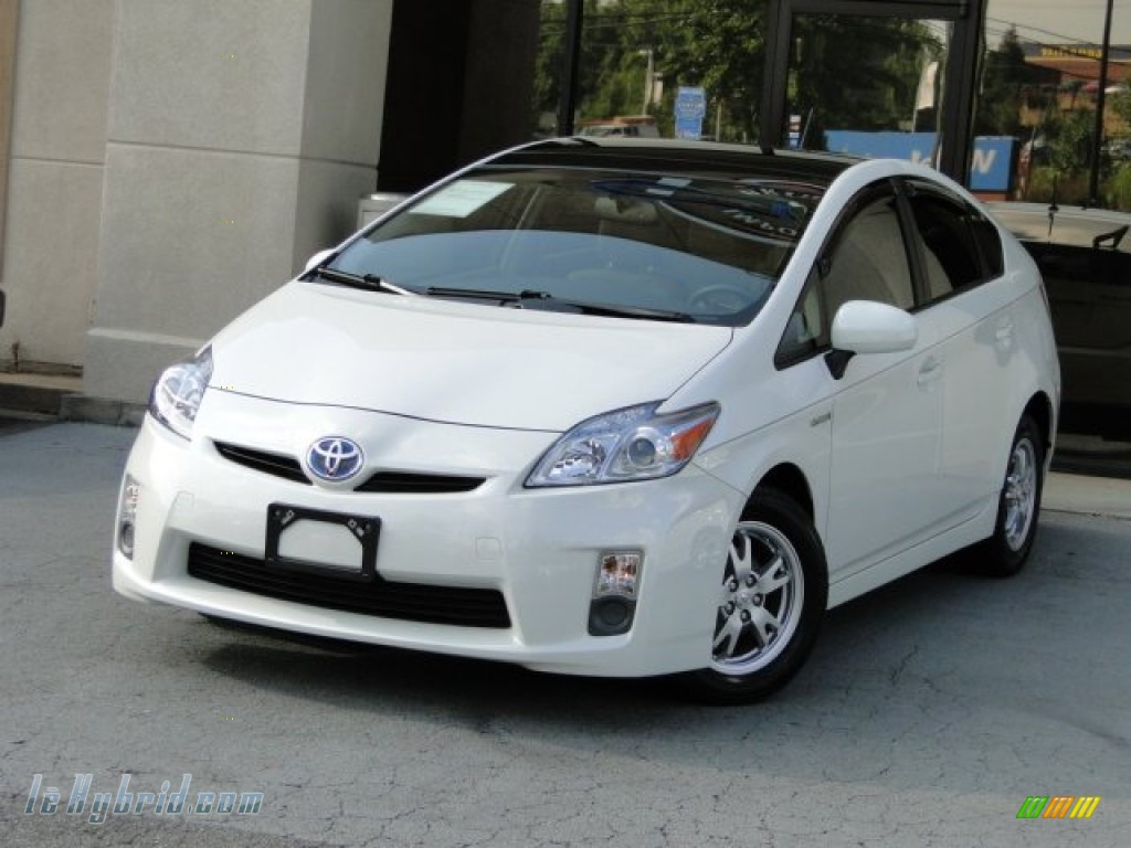 2010 toyota prius hybrid iv in blizzard white pearl for Prius electric motor for sale