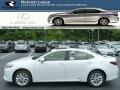 Lexus ES 300h Hybrid Starfire White Pearl photo #1