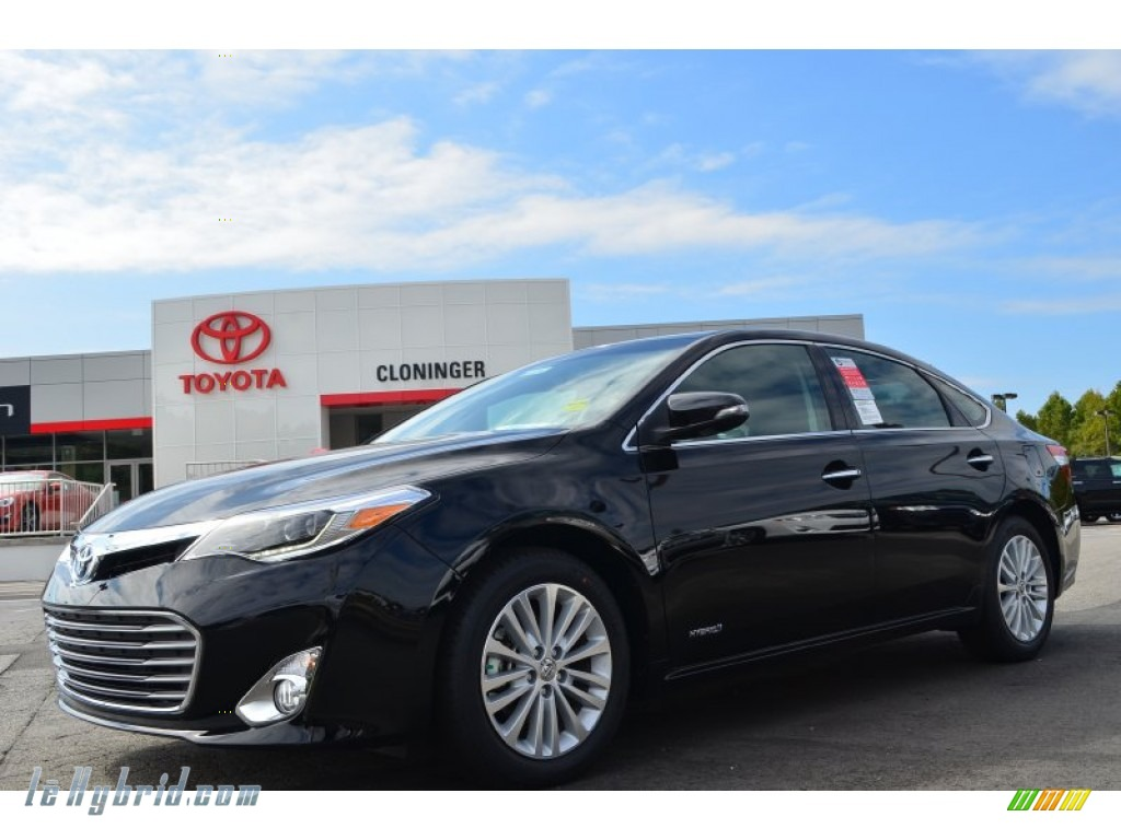 2013 toyota avalon hybrid limited in attitude black pearl 015564 hybrid cars. Black Bedroom Furniture Sets. Home Design Ideas