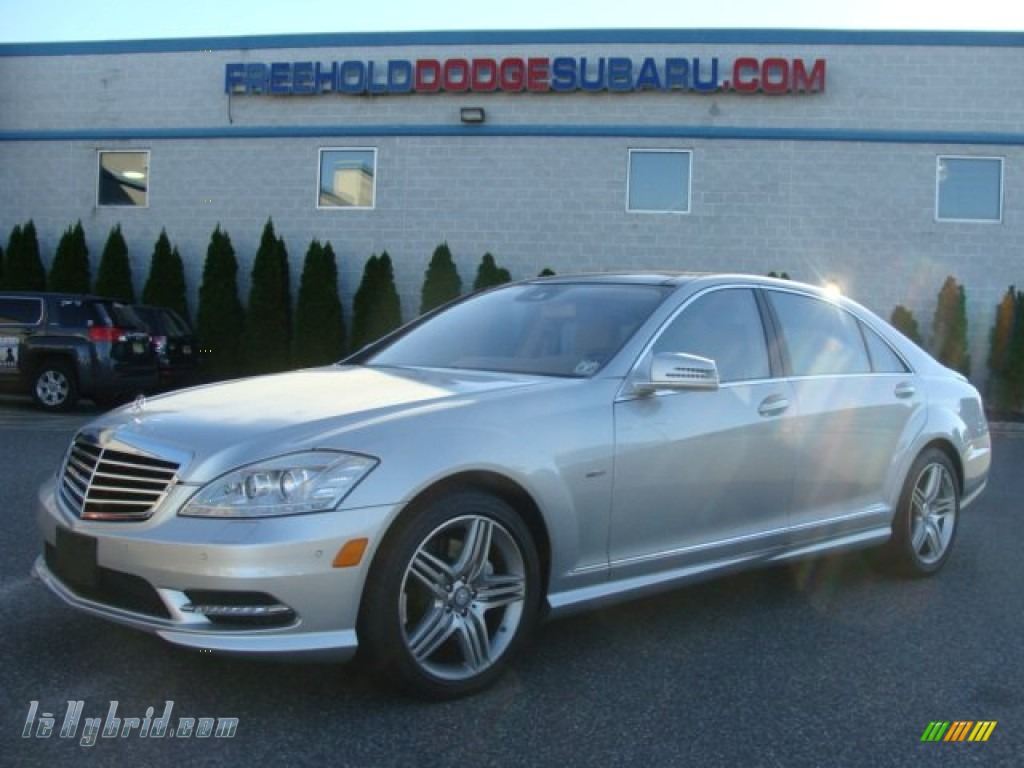 Iridium Silver Metallic / Cashmere/Savanna Mercedes-Benz S 400 Hybrid Sedan