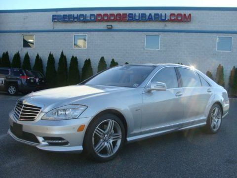 Iridium Silver Metallic 2012 Mercedes-Benz S 400 Hybrid Sedan