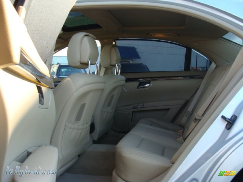 2012 S 400 Hybrid Sedan - Iridium Silver Metallic / Cashmere/Savanna photo #7