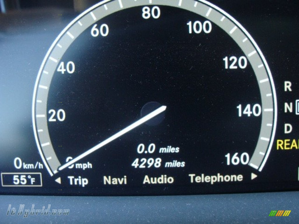 2012 S 400 Hybrid Sedan - Iridium Silver Metallic / Cashmere/Savanna photo #13
