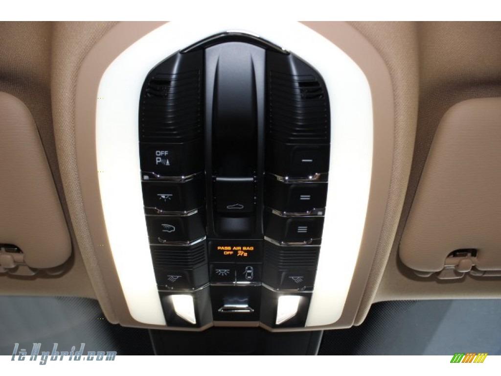 2014 Cayenne S Hybrid - White / Luxor Beige photo #18