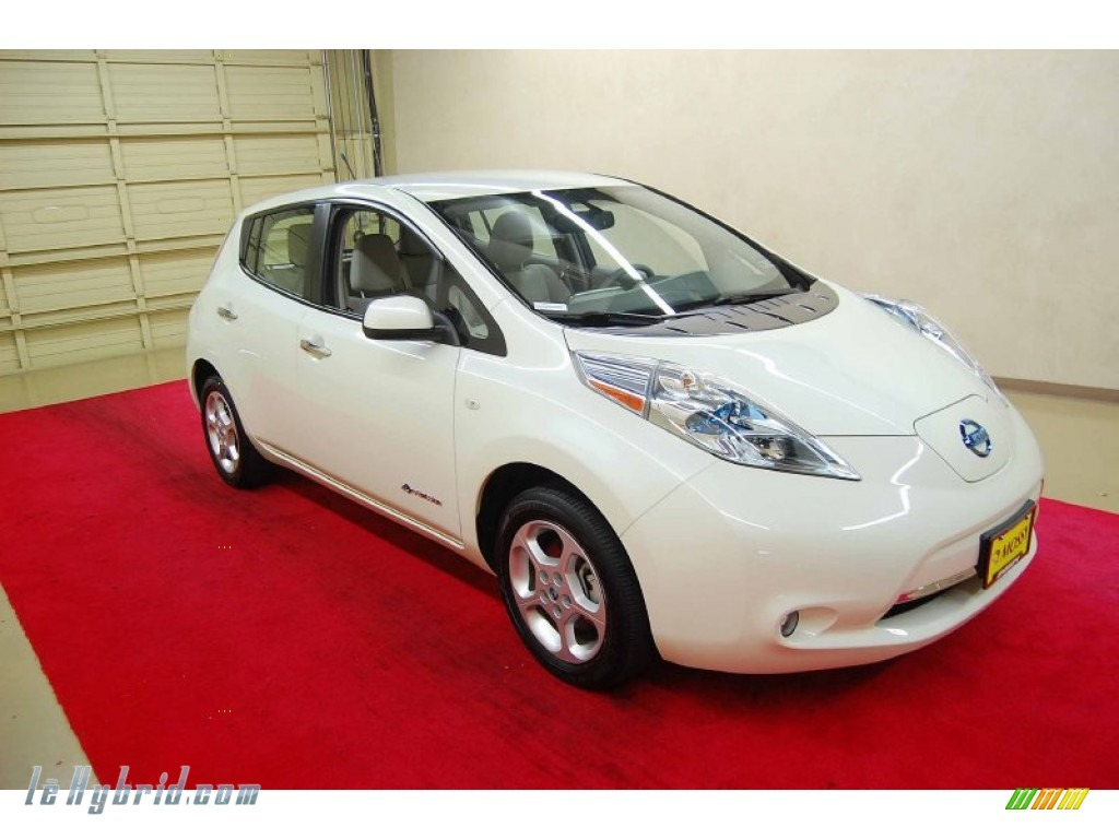2011 nissan leaf sl in glacier pearl white 004724 for 80kw ac synchronous electric motor