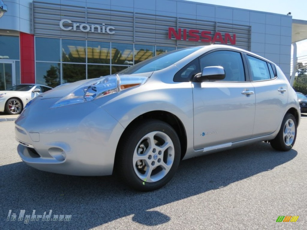 2013 nissan leaf sv in brilliant silver 418740 for 80kw ac synchronous electric motor