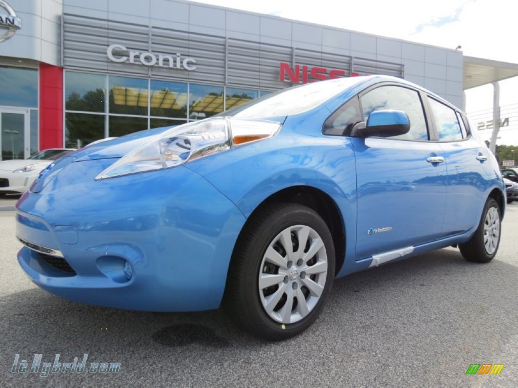 2013 nissan leaf s in blue ocean 419219 for 80kw ac synchronous electric motor