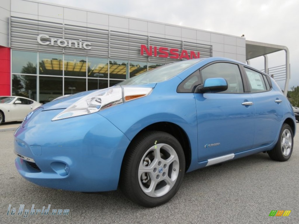 2013 nissan leaf sv in blue ocean 419753 for 80kw ac synchronous electric motor