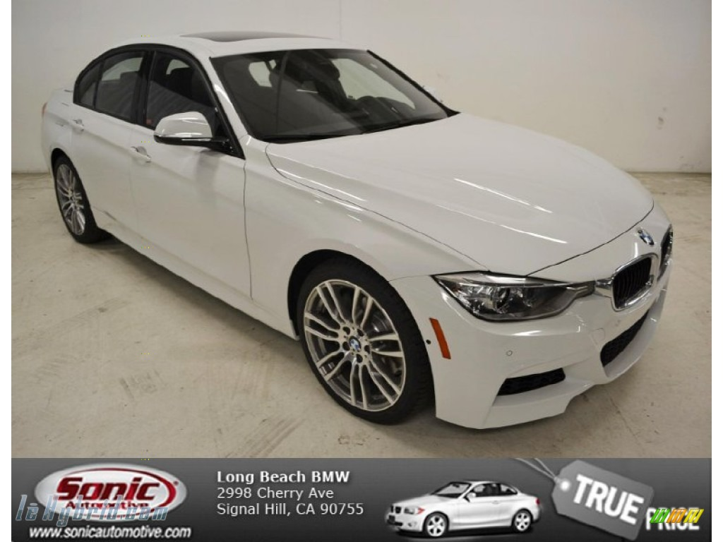 Alpine White / Black BMW 3 Series ActiveHybrid 3