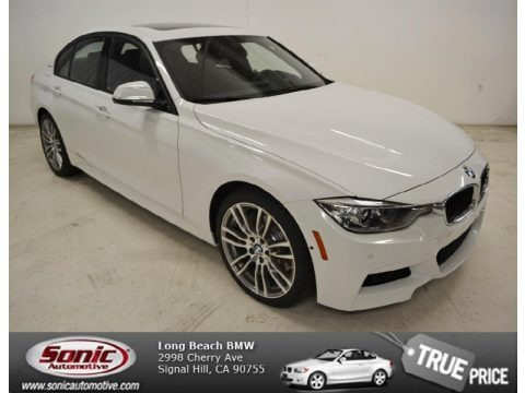 Alpine White 2014 BMW 3 Series ActiveHybrid 3