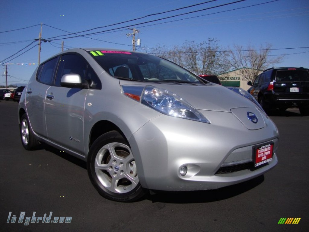 2011 nissan leaf sl in brilliant silver 000588 for 80kw ac synchronous electric motor