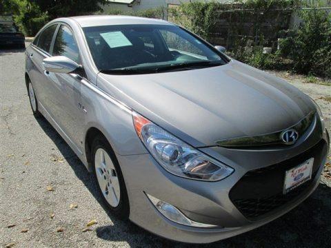 Harbor Gray Metallic 2011 Hyundai Sonata Hybrid