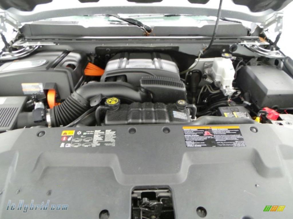 2013 Silverado 1500 Hybrid Crew Cab 4WD - Silver Ice Metallic / Ebony photo #5