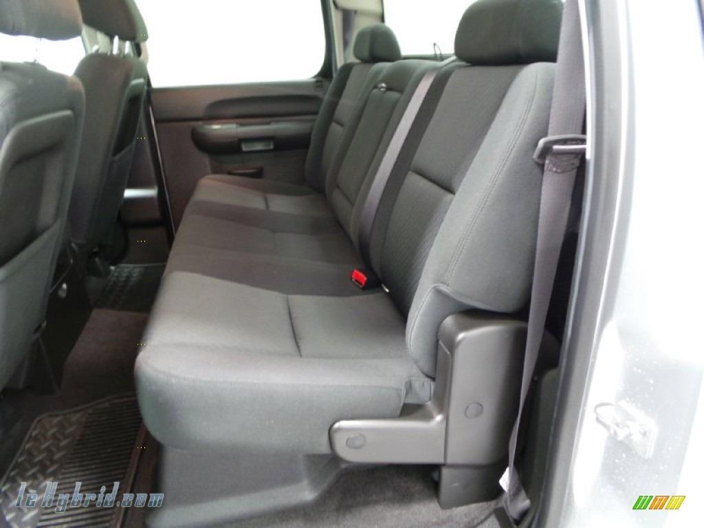 2013 Silverado 1500 Hybrid Crew Cab 4WD - Silver Ice Metallic / Ebony photo #7