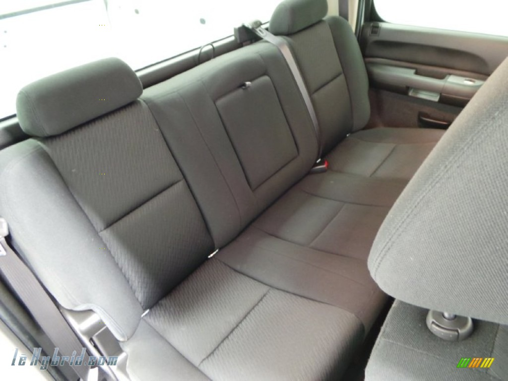 2013 Silverado 1500 Hybrid Crew Cab 4WD - Silver Ice Metallic / Ebony photo #8
