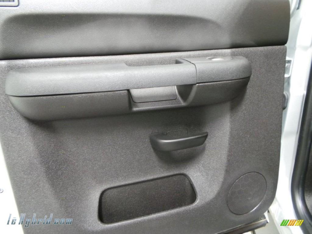 2013 Silverado 1500 Hybrid Crew Cab 4WD - Silver Ice Metallic / Ebony photo #13