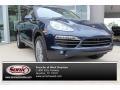 Porsche Cayenne S Hybrid Dark Blue Metallic photo #1