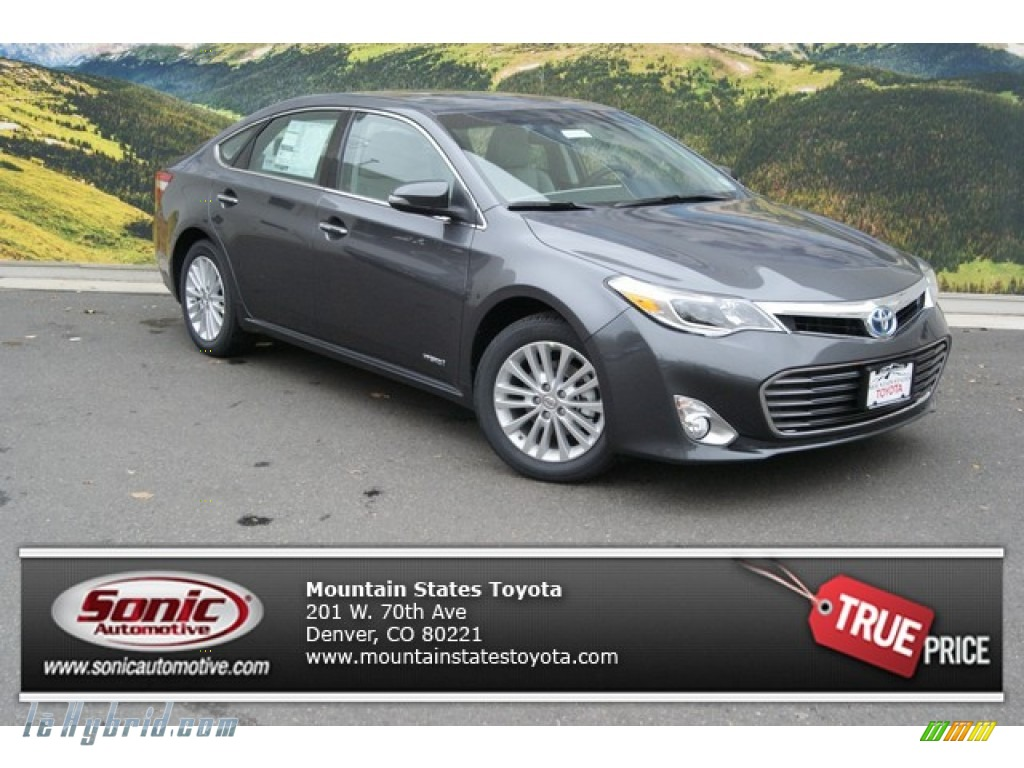 2014 Avalon Hybrid XLE Touring - Magnetic Gray Metallic / Light Gray photo #1