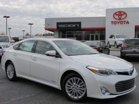 Blizzard White Pearl 2013 Toyota Avalon Hybrid Limited