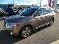 Nissan Pathfinder Hybrid Platinum AWD Mocha Stone photo #2