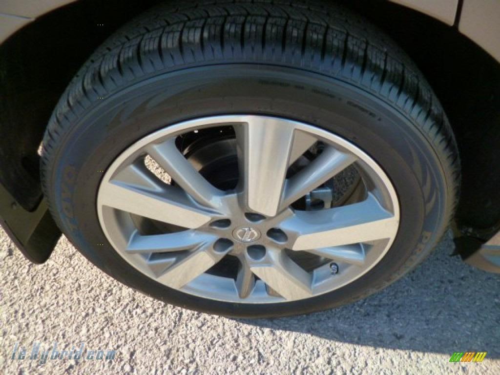 2014 Pathfinder Hybrid Platinum AWD - Mocha Stone / Charcoal photo #6