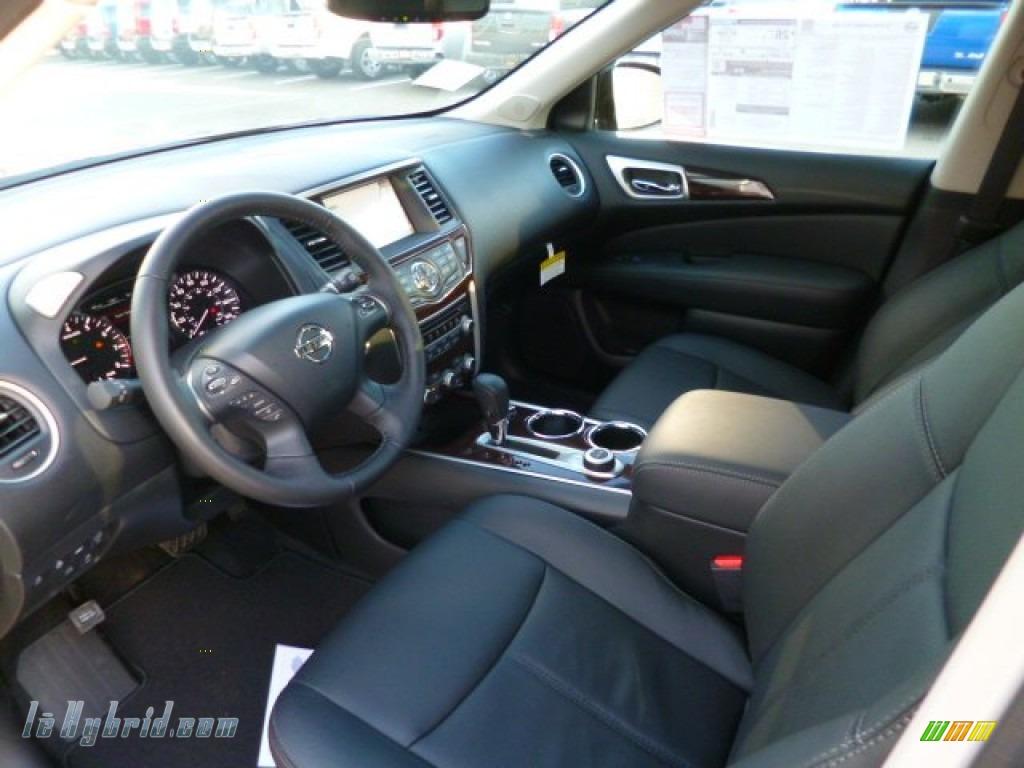 2014 Pathfinder Hybrid Platinum AWD - Mocha Stone / Charcoal photo #15